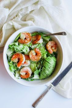 Easy Shrimp Caesar salad (Whole30) – a quick and easy lunch or dinner that will be ready in minutes! This is my go-to lunch …. pretty much always (well this and tuna salad, but let's face it – this is much prettier …).  It is the most delicious and simple lunch or dinner ever and perfect...Read More »