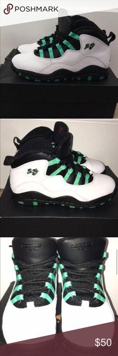 Jordan 10 Retro GP boy size 2 Wore 1 X Looks NEW 100% Authentic Jordan 10 Retro GP boy size 2 Wore 1 Time Looks New any questions please ask smoke free home Jordan Shoes Sneakers