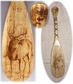 Wildlife Woodburnings | Free Wood Burning Stencils | Deer Wood Burning