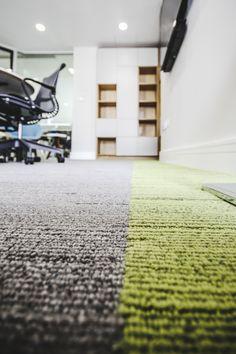 Office Fit Out - Interface Urban Retreat Carpet - Herman Miller Satu Chair…