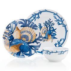 Del Mar Dinnerware - Set of 4 | Dinnerware | Tableware | Z Gallerie