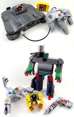 #transformer #nintendo #lego