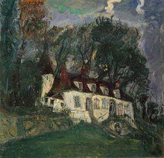 House at Oiseme, Chaim Soutine