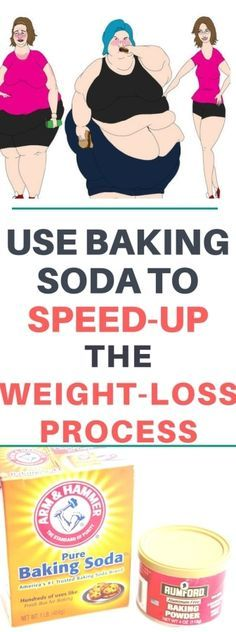 USE BAKING SODA TO SPEED-UP THE WEIGHT-LOSS PROCESS!!!