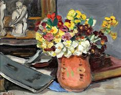 Bunch of primroses  Albert André- 1938