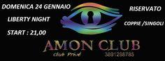 AMON CLUB PRIVE: LIBERTY NIGHT