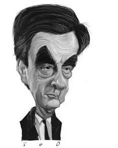 100% caricature: François Fillon