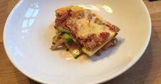 Zucchini Lasagne, Low Carb