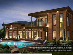 D clin d 39 acier harry wood maison pinterest james for Architecte quebecois contemporain