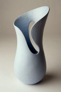 Hand-built, sculptural, textured, cutout ceramic | Tina Vlassopulos