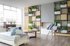Este apartamento es un ejemplo perfecto de la creación de nuevos espacios a partir de la búsqueda de la luz a través del color y el estilo vintage./> <meta property=