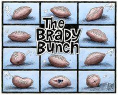 Deflated © Adam Zyglis,The Buffalo News,deflated, deflategate, new england, patriots, football, nfl, sports, league, air pressure, cheating, tom brady, bill belichick