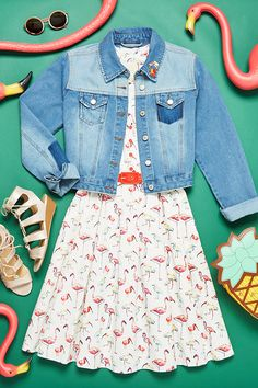 We're flocking to this casual take on a quirky summer print!