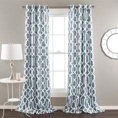 Finish The Look Of Your Home While Adding An Extra Layer Privacy With This Distinctive Set Curtains