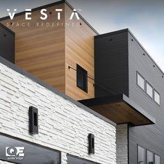 Exterior House Siding, Dream House Exterior, Exterior House Colors, Facade House, Modern House Plans, Modern House Design, Modern Exterior, Exterior Design, Building Design