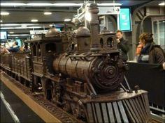 Tren de chocolate Belga
