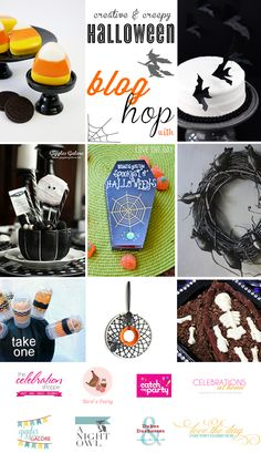 Creative and Creepy Halloween Blog Hop #Halloween #crafts #partyideas
