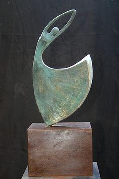 """Esculturas Tere Haeussler: """"Bailemos"""", bronce"""