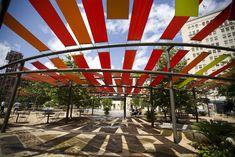Main Plaza Shade Structures, San Antonio (Rios Clementi Hale Studios, 2009)