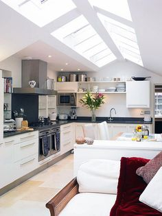 Kitchens With Skylights For More Natural Light (2)