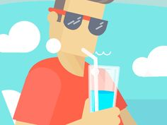 Summer animation by Toondra #Design Popular #Dribbble #shots