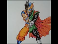 Drawing Super Vegito | Dragon Ball Z | TolgArt - YouTube