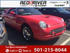 2002 *Ford*  *Thunderbird*   64k miles $15,900 64300 miles 501-215-8044 Transmission: Automatic  #Ford #Thunderbird #used #cars #RedRiverDodge #HeberSprings #AR #tapcars