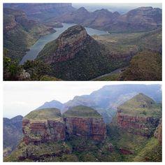 Three Rondavals Südafrika