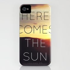 Here It Comes iPhone Case by Galaxy Eyes - $35.00