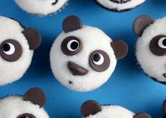 "Expressive Animal Confections | ""Bakerella's"" 'Panda Cupcakes' are the Cutest Way to Get Your Sugar Fix"