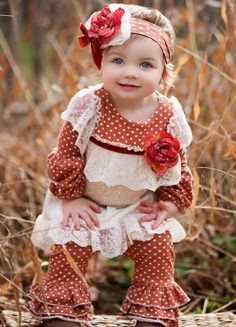 Autumn Bouquet Swing Set Preorder 12 Months to 4T