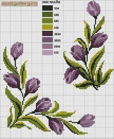 Ideas embroidery designs cross stitch punto croce for 2019 Cross Stitch Borders, Cross Stitch Flowers, Counted Cross Stitch Patterns, Cross Stitch Designs, Cross Stitching, Hand Embroidery Designs, Diy Embroidery, Embroidery Patterns, Free To Use Images