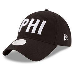 34da89d00 Philadelphia Eagles New Era Women's Hometown 9TWENTY Adjustable Hat - Black