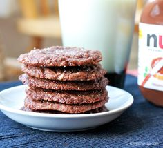 nutella-cookies-stacked