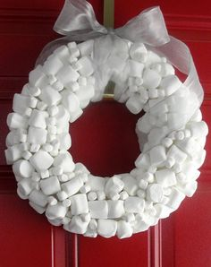 mallowwreath - fun, but definitely NOT a practical outdoor wreath.  at least not where I live!  :)