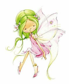 Leading Illustration & Publishing Agency based in London, New York & Marbella. Beautiful Fairies, Fairy Art, Cute Images, Cute Illustration, Faeries, Cute Art, Fantasy Art, Fantasy Makeup, Art Drawings