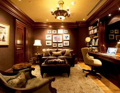 Rittenhouse Square Residence traditional home office