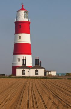 Lighthouse, Happisburgh, England, UK