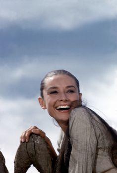 Rare Audrey Hepburn — Audrey Hepburn photographed by Inge Morathduring...