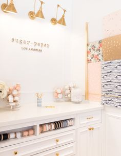 Come to Newport Beach to check out Sugar Paper's new stationary store.