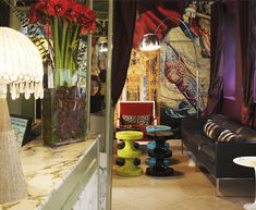 Hotel Petit Moulin in Paris designed by Christian Lacroix