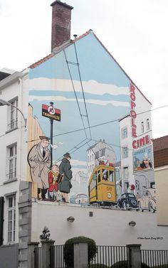 Le jeune Albert_Artiste : Chaland_Rue des Alexiens_Bruxelles/Brüssel (Belgique)_2011-08-07
