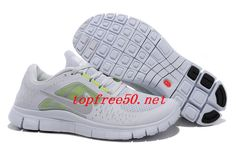 CIQA3E Pure Platinum Reflective Silver Sail Volt Nike Free Run 3 Men's Running Shoes