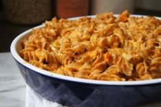 Creamy Carrot Mac and Cheese has all the delicious cheesiness of regular mac and cheese, only with a full pound of carrots cooked into every batch.