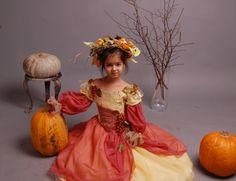 карнавальный костюм осени для девочки