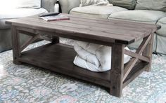 Absolutely love this coffee table!! can't wait to make this for our new home!