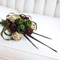 Portfolio of Flax Flowers, Bouquets & Arrangements by Artiflax Flax Flowers, Flower Bouquets, Islands, Wedding Flowers, Weaving, Hair Accessories, Bridal, Crafts, Butterflies