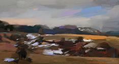 Digital painting by Vladimir Budinsky Digital, Painting, Landscape, Art, Art Background, Scenery, Painting Art, Kunst, Paintings