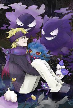 Ghost Pokemon, Ghost Type, Pokemon Pocket, Monsters, Trainers, Cartoon, Anime, Drawings Of Girls, Meet