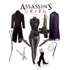 Female Assassin Creed Costume by keagan-yates on Polyvore featuring Qupid